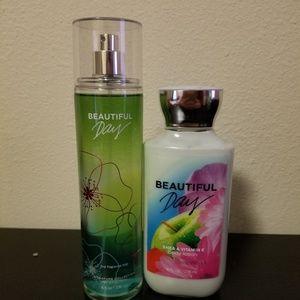 Beautiful Day Body Lotion & Spray Set